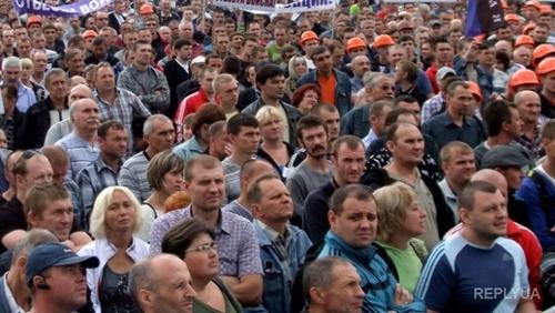 «Европейские» цены на продукты питания возмутили жителей Донецка
