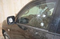 Обстріл автомобіля в Кривому Розі