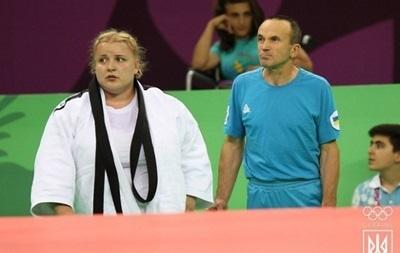 Светлана Яремка заняла третье место в Баку в категории свыше 78 кг.