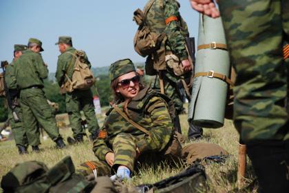 Возрастной состав ополченцев ДНР