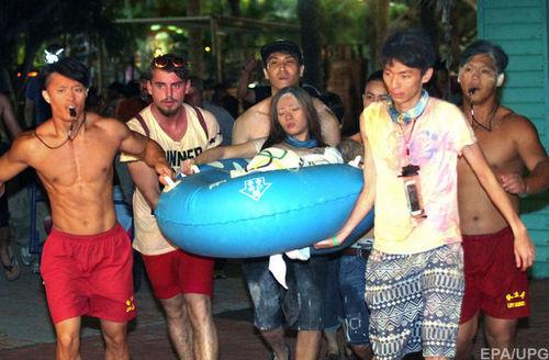 Число пострадавших в тайваньском аквапарке увеличивается