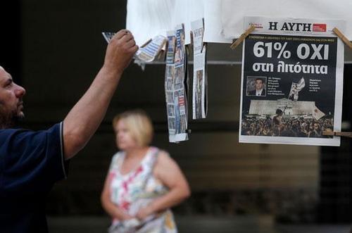 Як світ відреагував на референдум у Греції