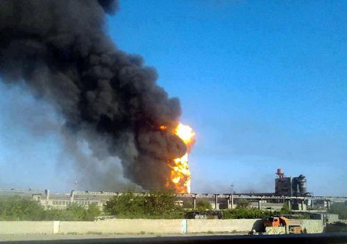 Унаслідок вибуху на заводі в Азербайджані одна людина загинула і 19 отримали поранення