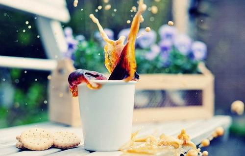 Утренняя чашка кофе и забывчивчивость