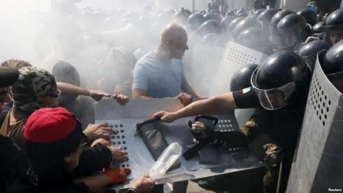 Аваков: В больницах до сих пор остается 81 раненый в беспорядках под Радой