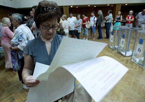 В Харьковской области потеряли 500 бюллетеней