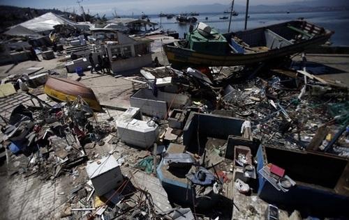 Чили всколыхнуло землетрясение