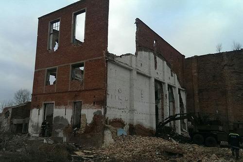 На Николаевщине рухнул завод: есть жертвы