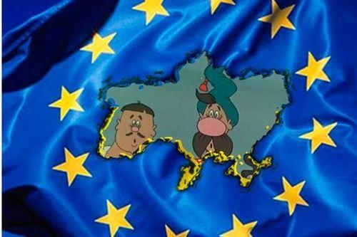 «Украинцы в ЕС не войдут. Они не европейцы», - западные СМИ об Украине