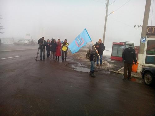 Активисты Харькова будут блокировать въезд фур из РФ