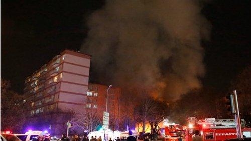 17 февраля сильный взрыв прогремел в центре Анкары