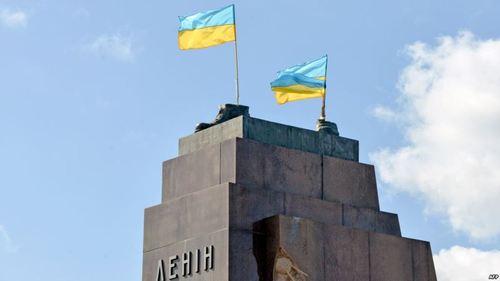 Памятник Ленина в Харькове заменит фонтан