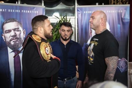 Бой за титул WBA в супертяжелом весе. Руслан Чагаев - Лукас Браун