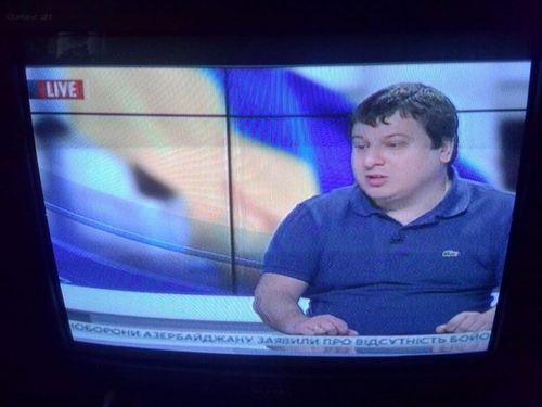 """«В самом логове """"вурдалаков""""» - Денис Казанский"""
