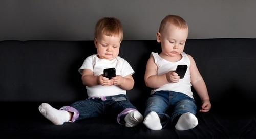 Cмартфон и косоглазие у детей