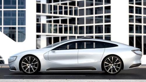 В Китае представили беспилотный электромобиль (видео)