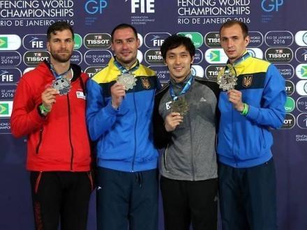 Украинский фехтовальщик выиграл предолимпийский турнир