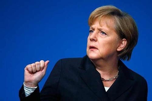 В приемную Меркель подбросили свиную голову