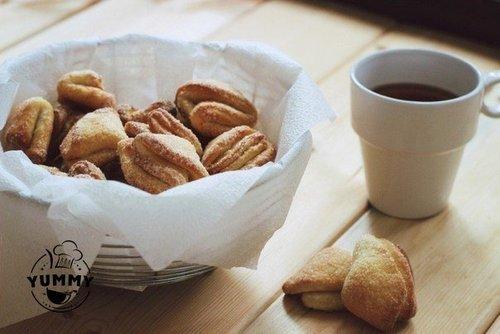 Мамины секреты «Творожные печенюшки к чаю»