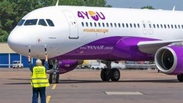 Yanair запустит рейс Киев — Рим