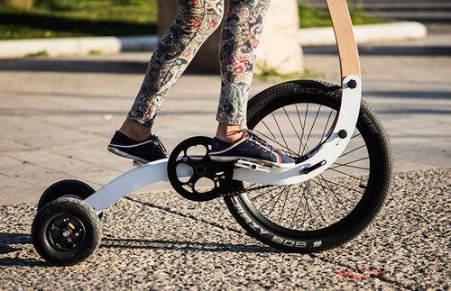 Halfbike - новый вид личного экотранспорта
