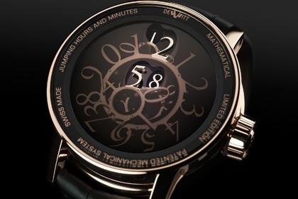 Часы DeWitt без стрелок завоевали приз за дизайн