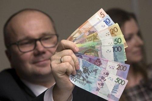 Белорусские рубли потеряли четыре нуля