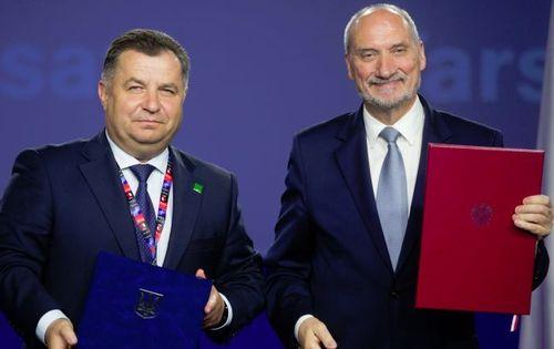 Украина и Польша подписали протокол о военно-техническом сотрудничестве