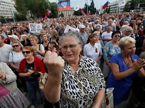Горловка бунтует против Захарченко (видео)