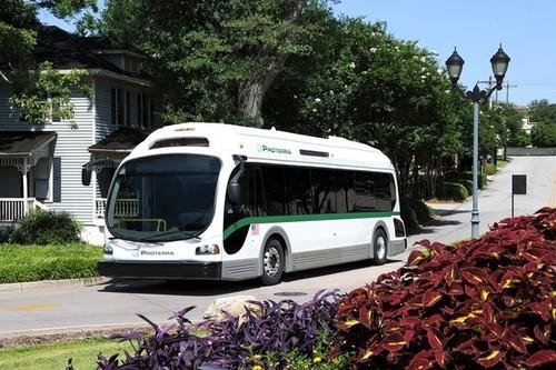 1100 километров в день на электрическом автобусе
