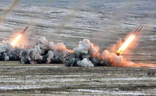 Российская армия продолжает обстреливать Украину