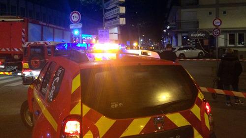 Пожар в баре во французском Руане