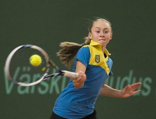 Юная харьковчанка победила на чемпионате мира по теннису