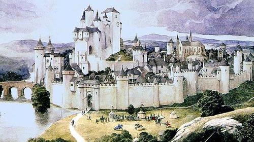 Найден замок короля Артура