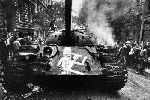Оккупация Чехословакии. Как это было в 1968...