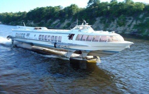 Между областными центрами Украины пустят пассажирские катера