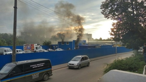 Подробности взрыва в Харькове (видео)