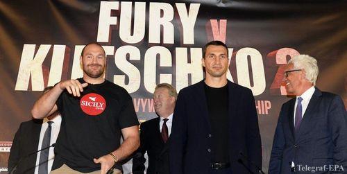 Реванш Кличко против Фьюри 29 октября не состоится