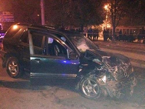 В Белой Церкви в ДТП погибли двое патрульных полицейских