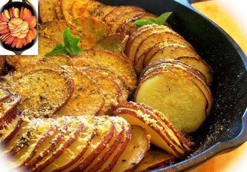 """Мамины секреты """"Запеченный картофель в духовке"""""""