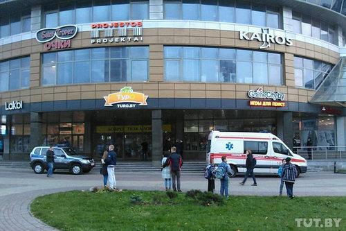 Нападение на покупателей в торговом центре Минска, есть жертвы