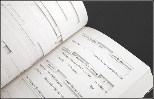 Издательские эксперименты: дырявая книга