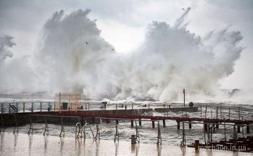 В Одесской области из-за непогоды объявлено чрезвычайное положение