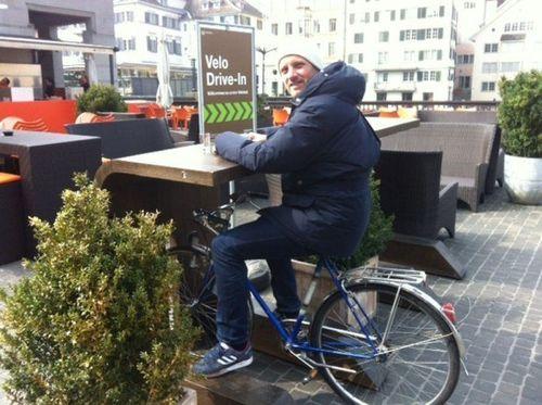 Уникальное велосипедное кафе в Цюрихе (ФОТО)