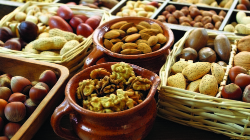 Орехи снижают воспаление