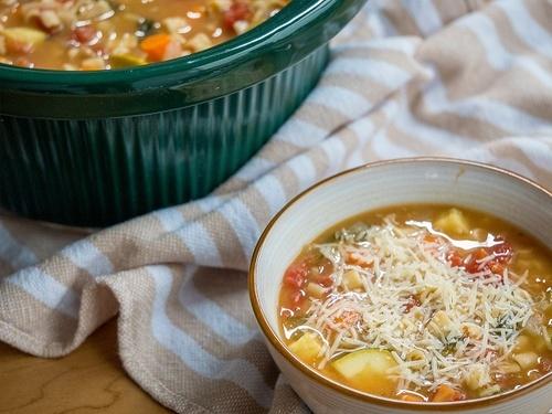 Любимый суп Леонардо да Винчи — Минестроне