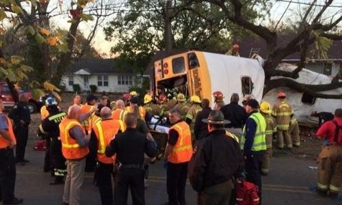 Авария со школьным автобусом: шестеро погибших и десятки пострадавших