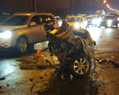 Вчера: На Шевченко крупное ДТП - Семь машин, четверо пострадавших