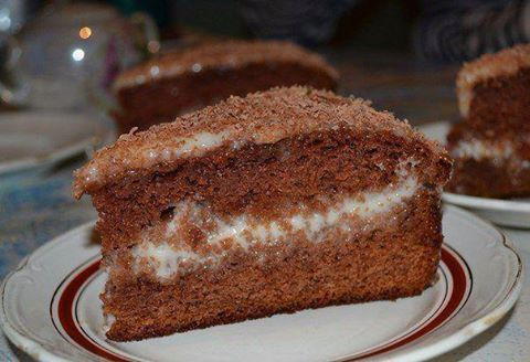 Самый простой и самый вкусный шоколадно-сметанный торт