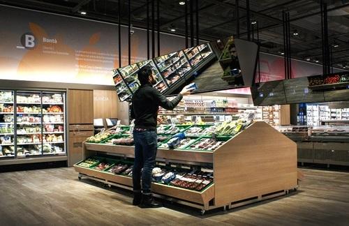 В Италии открылся супермаркет будущего